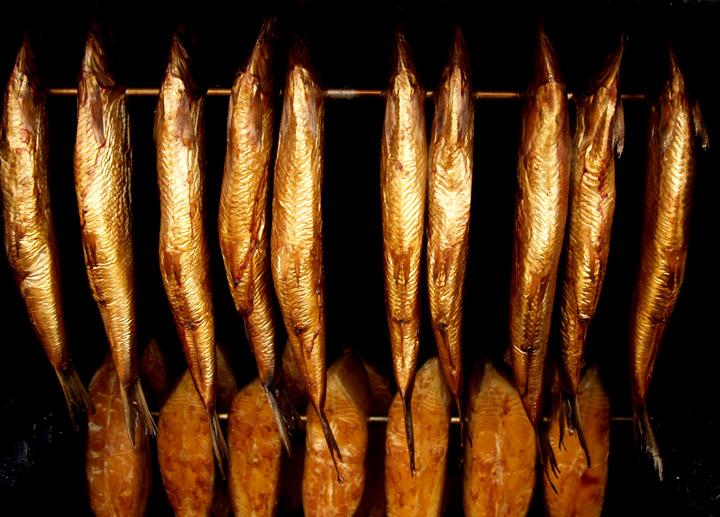 Kalt-Heiß-Räuchern 6 Fische liegend Peetz Edelstahl-Räucher-Ofen für ca angel